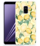 Samsung Galaxy A8 2018 Hoesje Lemons