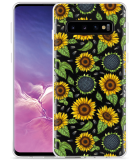 Galaxy S10 Hoesje Sunflowers
