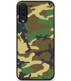 Galaxy A50 Hardcase hoesje Army Camouflage Green