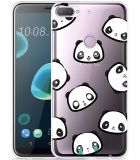 Desire 12 Plus Hoesje Panda Emotions