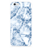 iPhone 6/6S Hoesje Blue Marble Hexagon