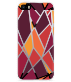 iPhone 5/5S/SE Hoesje Colorful Triangles