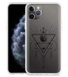 Apple iPhone 11 Pro Hoesje Abstract Moon Black