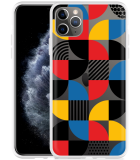 Apple iPhone 11 Pro Max Hoesje Abstract Pattern