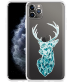 Apple iPhone 11 Pro Max Hoesje Art Deco Deer