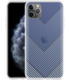 Apple iPhone 11 Pro Max Hoesje Art Lines