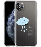 Apple iPhone 11 Pro Max Hoesje Cloud
