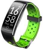 Denver BFH-13 Fitnessband met Bluetooth 4.0 - zwart / groen