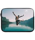 Samsung Galaxy Tab A 8.0 2019 Tablet Sleeve met eigen foto - zwart
