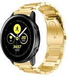 Just in Case Metalen armband voor Samsung Galaxy Watch Active - Goud