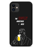 iPhone 11 Hardcase hoesje Only Beer Moustache
