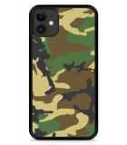 iPhone 11 Hardcase hoesje Army Camouflage Green