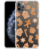 Apple iPhone 11 Pro Max Hoesje Christmas Cookies
