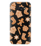Galaxy A5 (2017) Hoesje Christmas Cookies