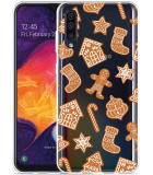 Galaxy A50 Hoesje Christmas Cookies
