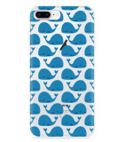 iPhone 8 Plus Hoesje Whales