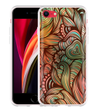 iPhone SE 2020 Hoesje Abstract colorful