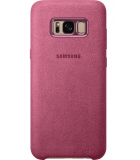 Samsung Galaxy S8 Plus Alcantara Cover Roze