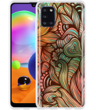 Samsung Galaxy A31 Hoesje Abstract colorful