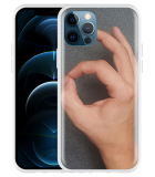 Apple iPhone 12 Pro Hoesje Circle Hand Game