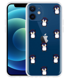 Apple iPhone 12 Hoesje Chillin like a penguin