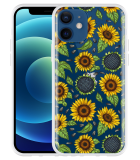Apple iPhone 12 Hoesje Sunflowers