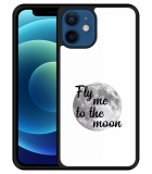 iPhone 12 Hardcase hoesje Fly me to the Moon