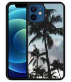 iPhone 12 Hardcase hoesje Palmtrees
