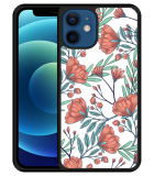 iPhone 12 Hardcase hoesje Poppy Roses