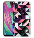 Galaxy A40 Hoesje Geometric Artwork