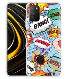 Xiaomi Poco M3 Hoesje Comic