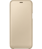 Samsung Galaxy A6 (2018) Wallet Cover - Goud