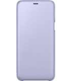 Samsung Galaxy A6 Plus (2018) Wallet Cover - Paars