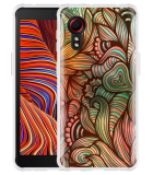 Samsung Galaxy Xcover 5 Hoesje Abstract colorful
