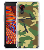 Samsung Galaxy Xcover 5 Hoesje Army Camouflage Green