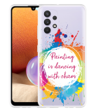 Samsung Galaxy A32 4G Hoesje Painting