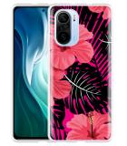 Xiaomi Mi 11i Hoesje Tropical Flowers