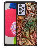 Samsung Galaxy A52s Hardcase hoesje Abstract colorful
