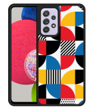 Samsung Galaxy A52s Hardcase hoesje Abstract Pattern
