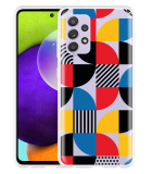 Samsung Galaxy A52s Hoesje Abstract Pattern