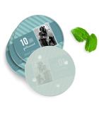 Luxe Onderzetters - Rond - Glas - 4 Stuks - Huwelijk II