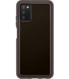Samsung Galaxy A03s Soft Clear Cover - Zwart