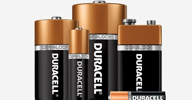 Alle batterijen